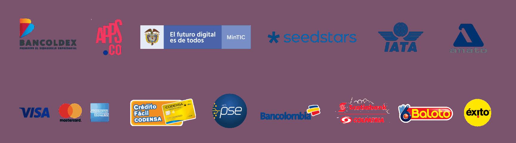 marcas que respaldan a Boni.com.co