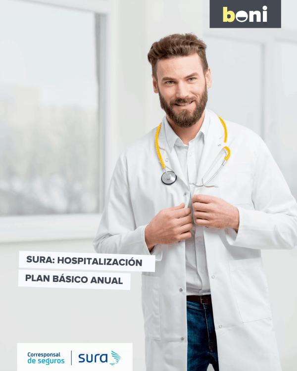 Plan Hospitalización Seguros Sura   Hasta 1 año