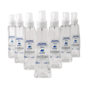 Alcohol antiséptico 96% 250 ml dispensador spray