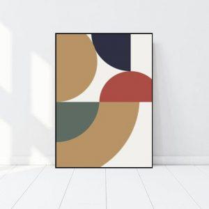 Cuadro Arte Abstracto Bauhaus - Bogotá