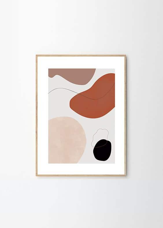 Cuadro Arte Abstracto Formas - Bogotá