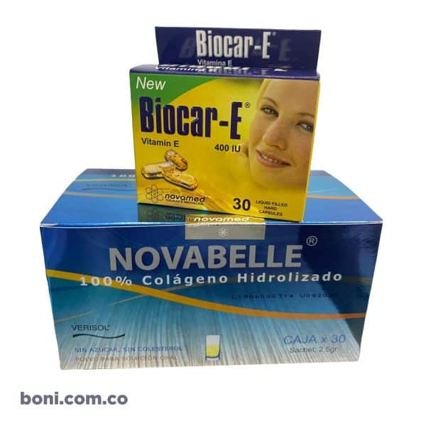 Novabelle Caja x 30 Sobres Sachet 100% Colágeno