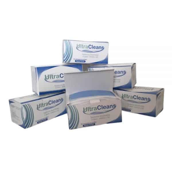 5 Cajas total 250 tapabocas UltraCleans termosellados 3 capas registro INVIMA