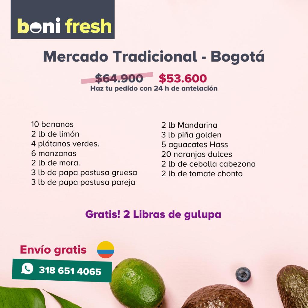 mercado Tradicional Bogota Boni.com.co