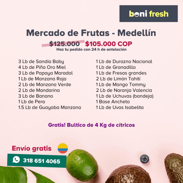 Canasta de Frutas - Medellín