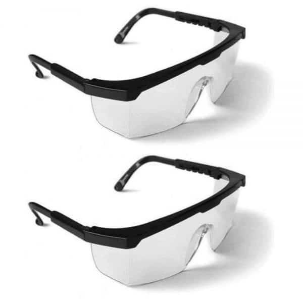 2x1 Gafas de seguridad - Negro