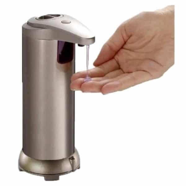 Dispensador Automático con Sensor de Gel y Jabón