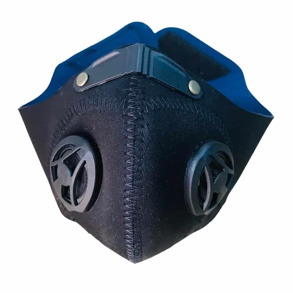 tapaboca-deportivo-reutilizable-doble-valvula-azul Boni.com.co