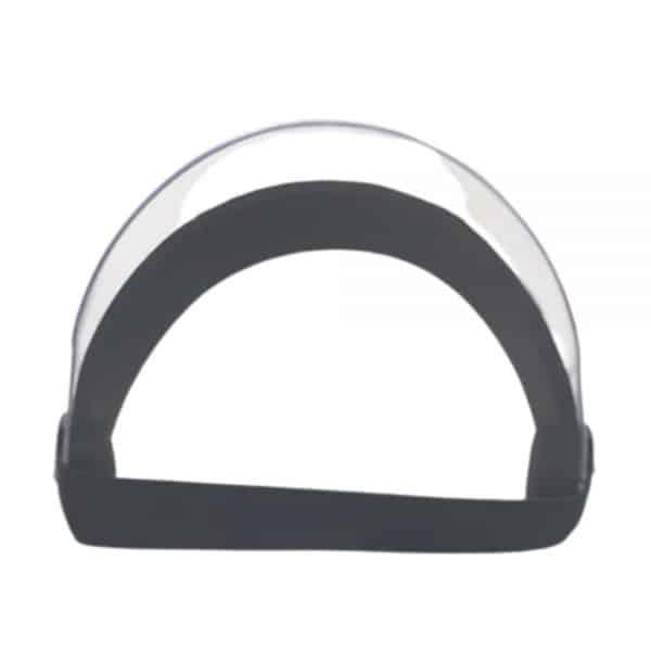 2x1 Caretas de Policarbonato 16 cm con curva interna mentón. Máscara o visor con protección UV