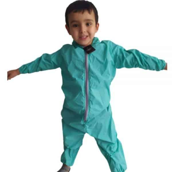 Overol Antifluidos para Niños/Niñas
