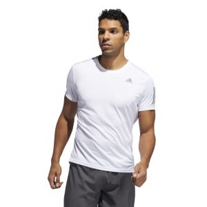 Camiseta Hombre Adidas Own The Run Tee White | Original