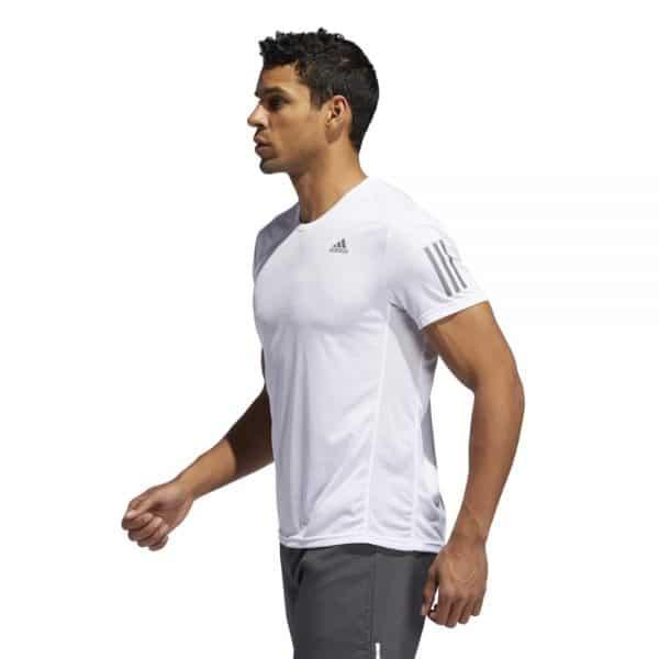 Camiseta Hombre Adidas Own The Run Tee White | Original