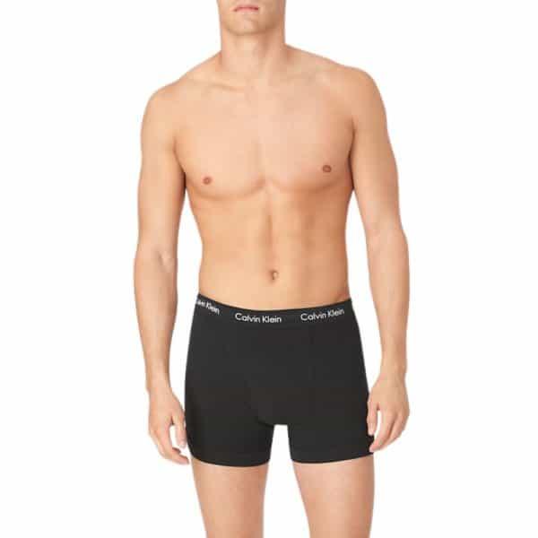 Pack 3 Bóxer Hombre Calvin Klein Trunk Stretch Black | Original