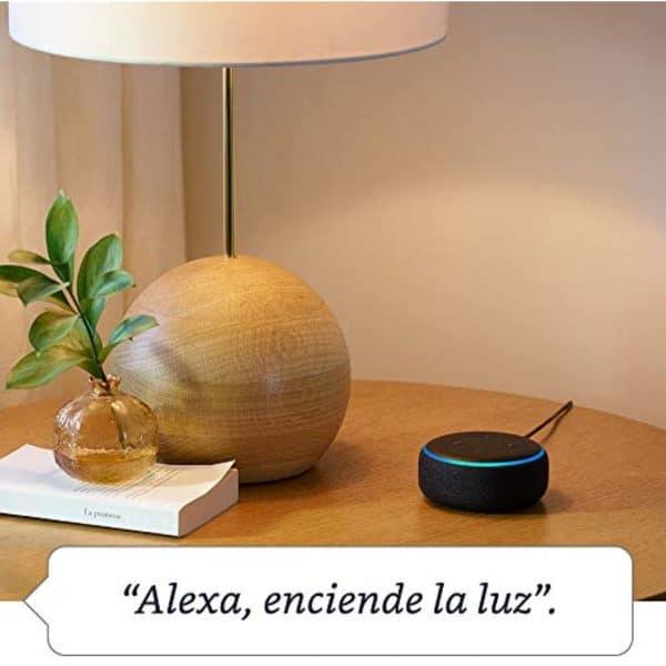 Amazon Echo Dot con Alexa 3ra Generación Altavoz Inteligente Gris Oscuro | Original