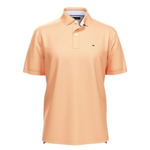 Polo Tommy Hilfiger Solid Classic Fit Ivy color Canteloupe | Original