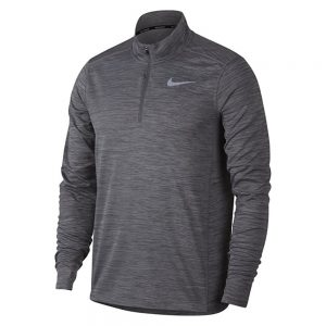 Buso Nike Dri-Fit Men 1/2 Zip Running Mystic Gray | Original