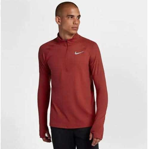 Buso Nike Dri-Fit Men 1/2 Zip Running Red | Original