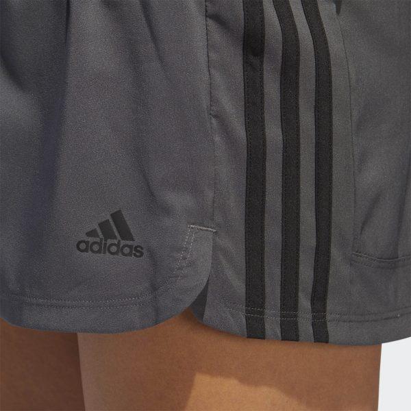 Shorts Adidas Woven Pacer 3-Stripes Grey | Original