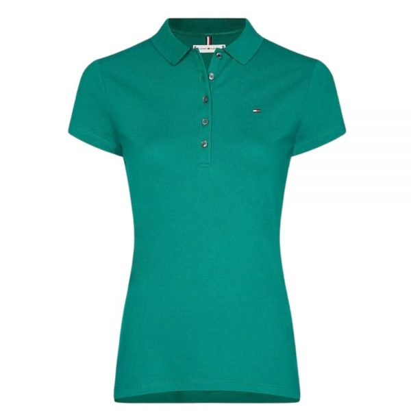 Polo Mujer Tommy Hilfiger Woman Green | Original