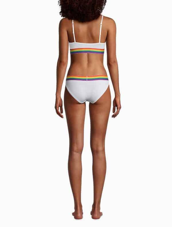 Bralette Mujer Calvin Klein Modern Pride Unlined White   Original