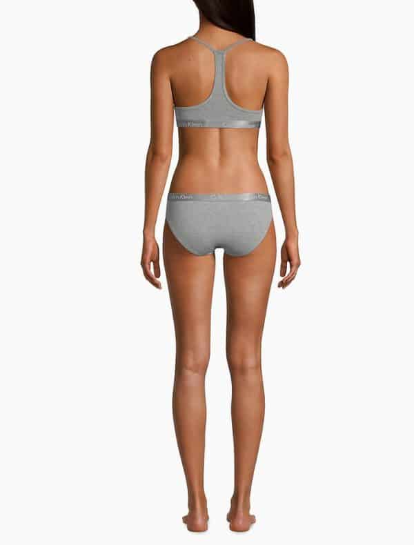 Bralette Mujer Calvin Klein Motive Lightly Lined Grey | Original