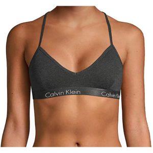 Bralette Mujer Calvin Klein Motive Cotton Lightly Lined Heather | Original