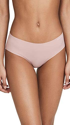 2-Pack Panty Mujer Calvin Klein Invisible Hipster Nymphys - Pink   Original