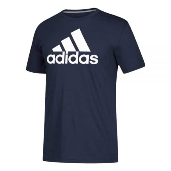 Camiseta Hombre Adidas Badge Of Sport Intercept Tee Navy   Original