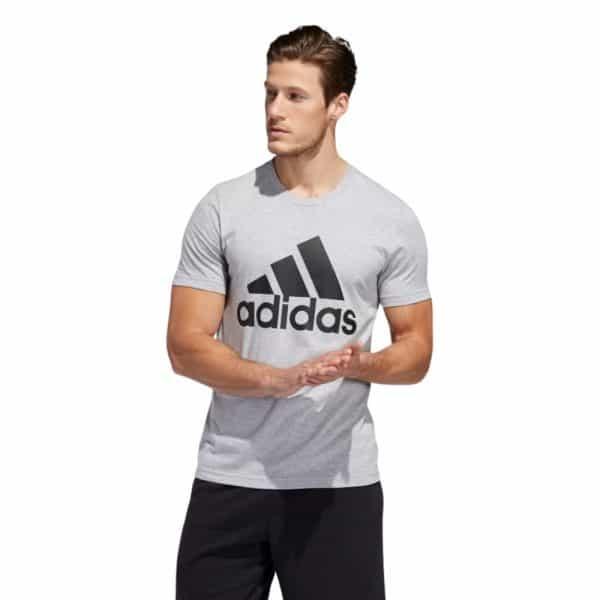 Camiseta Hombre Adidas Badge Of Sport Intercept Tee Grey   Original