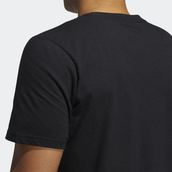 Camiseta Hombre Adidas Badge Of Sport Intercept Tee Black   Original