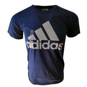 Camiseta Hombre Adidas Badge Of Sport Intercept Tee Printed Black | Original