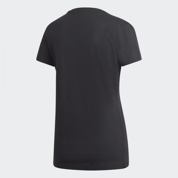 Camiseta Mujer Adidas Foil Graphic Tee Black | Original