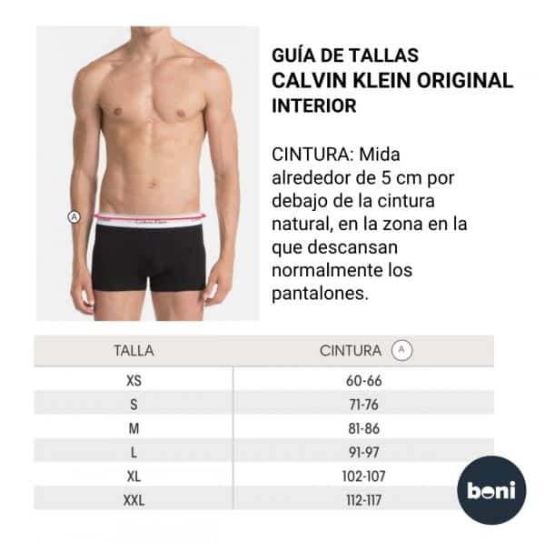 Pack 2 Boxer Hombre Calvin Klein Trunk Cotton Stretch Black Grey | Original
