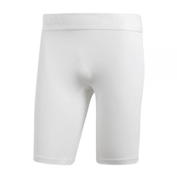 Lycra Corta Hombre Adidas Alphaskin Sport White | Original