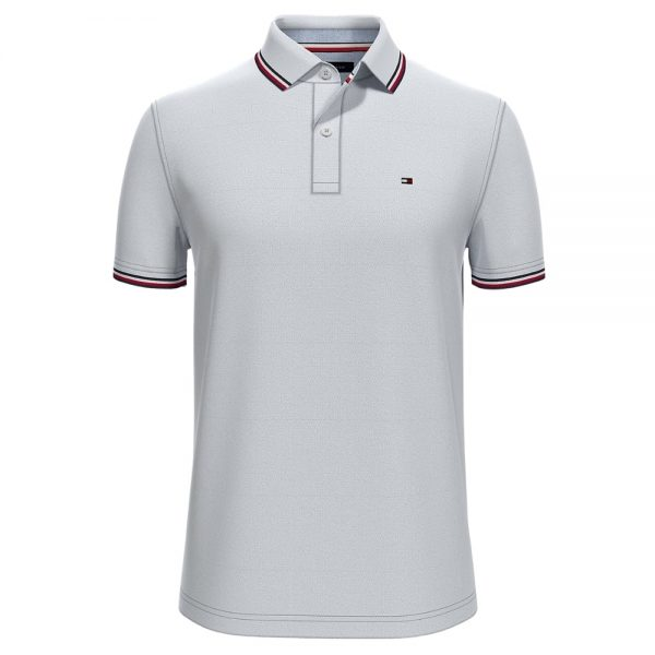 Polo Hombre Tommy Hilfiger Custom Fit Essential Performance White | Original