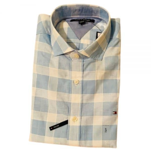 Camisa Manga Larga Hombre Tommy Hilfiger Slim Stripes | Original