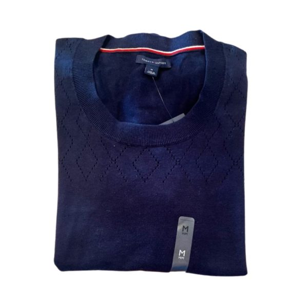 Saco Mujer Tommy Hilfiger Essential Scoop Neck Sweater Navy | Original