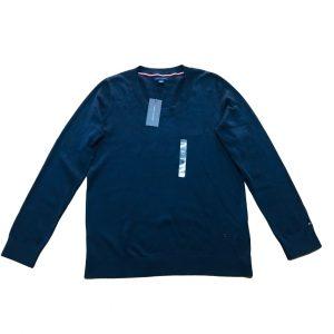 Saco Mujer Tommy Hilfiger Essential Scoop Neck Sweater Navy   Original