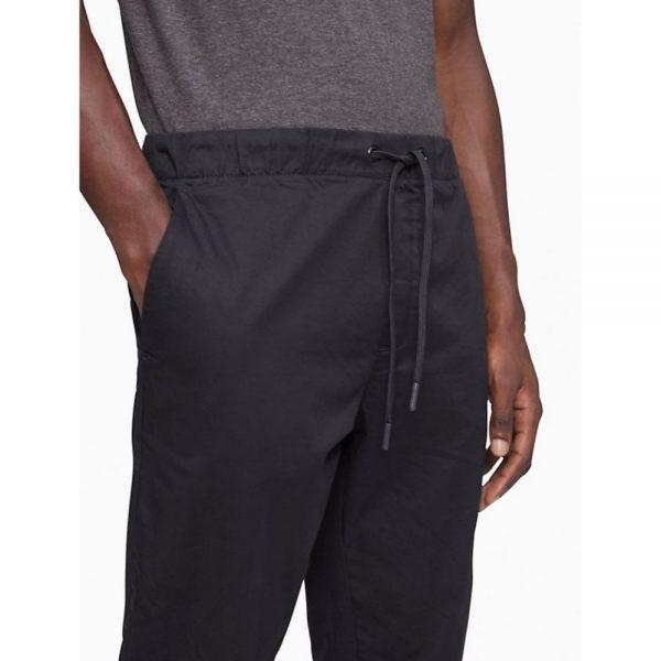 Jogger masculino Calvin Klein Solid Stretch Twill Navy | Original