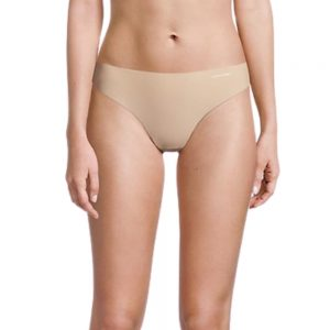 Pack 2 Tangas Mujer Calvin Klein Invisible Beige | Original