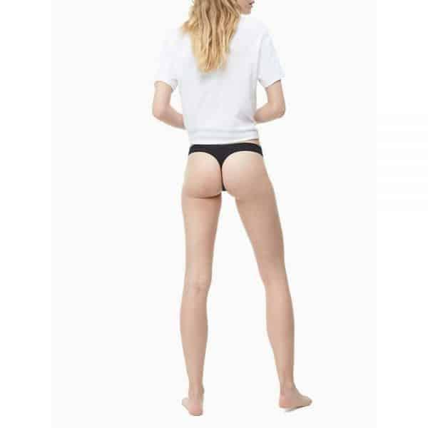 2-Pack Tangas Invisibles Mujer Calvin Klein Black | Original