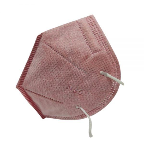 Lleva 20 Paga 10 Tapabocas N95 Rosa   Termosellados 5 capas INVIMA   Empaque individual - Unidad $2995