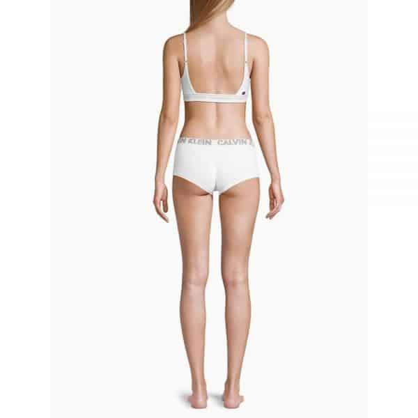 Panty Mujer Calvin Klein Ultimate Cotton Boyshort White | Original