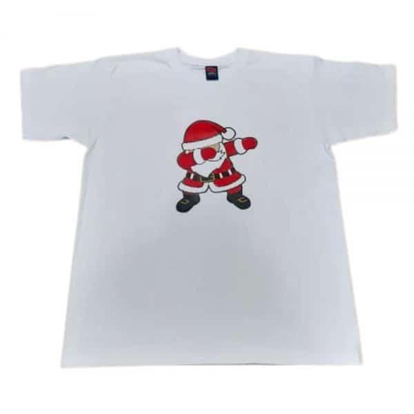 Camisetas Navideñas con Motivo Estampado