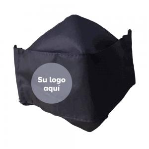 2x1: Lleva 50 paga 25 Tapabocas bordados con el logo de tu empresa. Ejecutivos Antifluido Lavables 3 capas