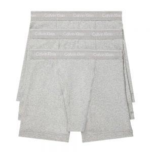 Pack 3 Boxer Hombre Calvin Klein Brief Cotton Classic Fit Grey | Original