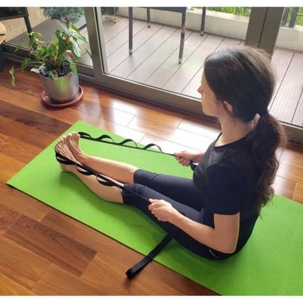 Reata de Estiramiento Muscular Fitness, Yoga y Fisioterapia