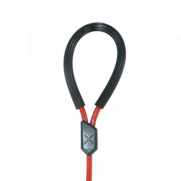 Correa Reforzada para Mascotas con Cable de Acero y Gancho de Seguridad   40 cm