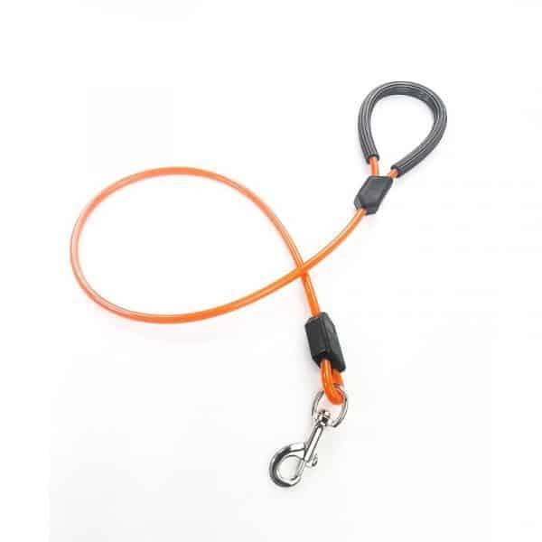 Correa Reforzada para Mascotas con Cable de Acero y Gancho de Seguridad | 120 cm