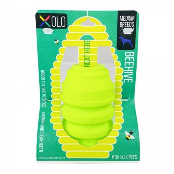 Juguete dispensador de golosinas para perros razas medianas y grandes | Beehive